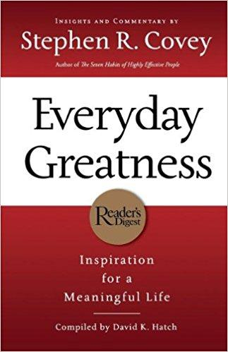 Everyday Greatness Summary