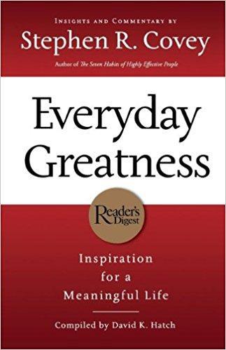 Everyday Greatness Summary Stephen R Covey Pdf Audiobook