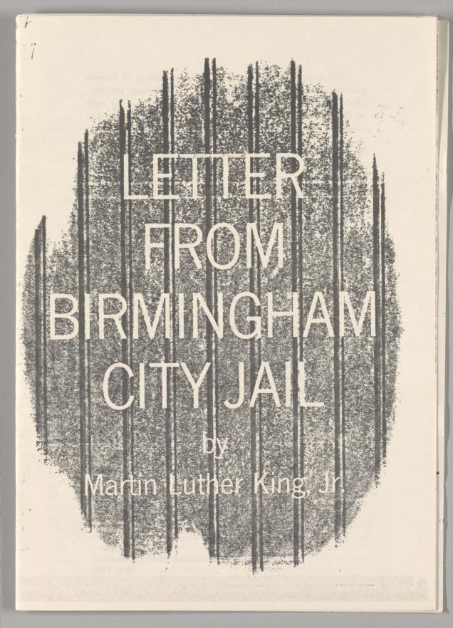 Letter From Birmingham Jail Pdf Summary M Luther King Jr